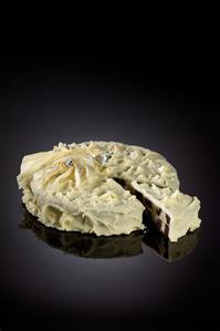Pastel de chocolate blanco