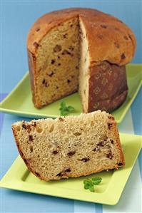 Panettone de chocolate. Receta disponible.