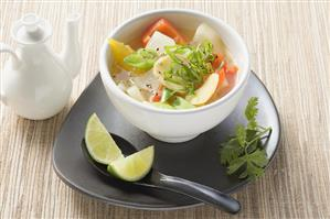 Ginger and lime soup